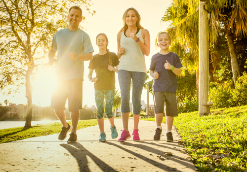 Getting Fit as a Family